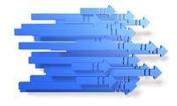 次世代を表すアブストラクト3DCGイラスト