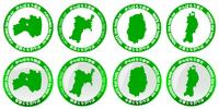 地図 メダル 東北 アイコン