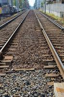 叡山電鉄の線路