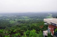 都羅展望台から見た非武装地帯