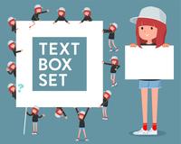 flat type Sporty sweat wear women_text box