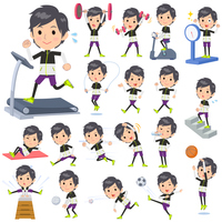 monotone wear man Sports & exercise