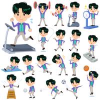 90's fashion man_Sports & exercise