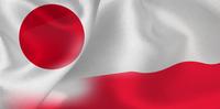 日本 ポーランド  国旗 サッカー