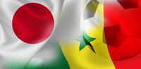 日本 セネガル  国旗 サッカー