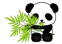 パンダ 笹 食べる