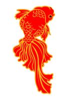 金魚 クリップアート