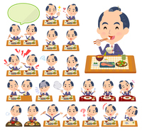 japanese samurai Businessman_Meal