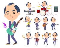 japanese samurai Businessman_pop music
