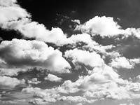 東京の初夏の雲