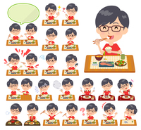 red Tshirt Glasse men_Meal
