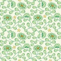 花柄のパターン/シームレス