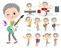 short hair old women_pop music