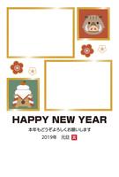 2019年亥年年賀状