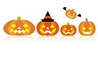 ジャックオランタン ハロウィン かぼちゃ