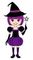 魔女 - ハロウィンの仮装