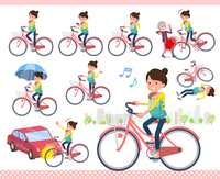 flat type Mother and baby_city cycle