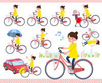 flat type Pregnant women_city cycle
