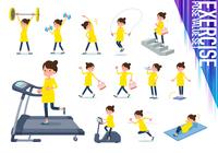 flat type Pregnant women_exercise