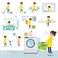flat type Pregnant women_housekeeping