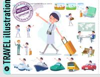 flat type Nurse women_travel