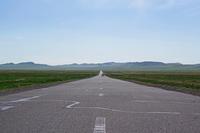大草原へ続く道