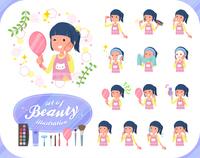 flat type Childminder women_beauty