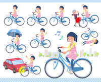 flat type Childminder women_city cycle