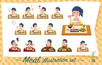 flat type Childminder women_Meal