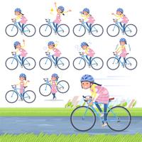 flat type Childminder women_road bike