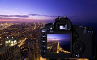 デジタルカメラの液晶モニター