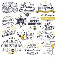 クリスマスのアルファベット素材