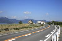 琵琶湖 湖岸道路