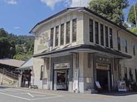 ケーブル坂本の駅舎