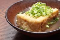 揚げ豆腐の煮物