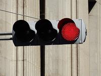 LEDの交通信号機