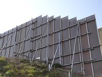工事現場のフェンス