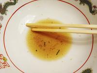食べ終わったラーメン鉢