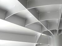 螺旋階段の鉄板