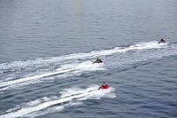 水上ジェットスキー