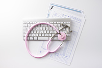 聴診器と診療録