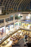 マリーナ・ベイ・サンズ内のショッピングモール