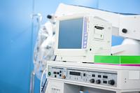 手術室にある人工呼吸器