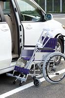 自動車と車椅子