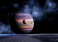 双子惑星と銀河