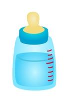 哺乳瓶 水