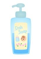ポンプ型赤ちゃん用洗剤