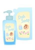 赤ちゃん用食器用洗剤 詰め替えと本体