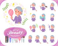 flat type grandma Sportswear_beauty