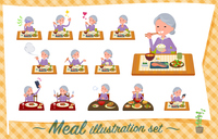 flat type grandma Sportswear_Meal